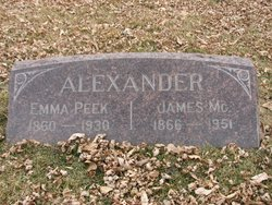 Emma <i>Peek</i> Alexander