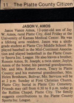 Jason Vance Amos