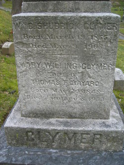 Mary Willing <i>Clymer</i> Bayard
