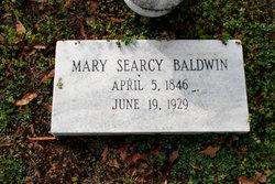 Mary <i>Searcy</i> Baldwin