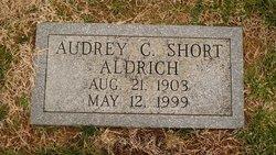 Audrey Olivia <i>Carter Short</i> Aldrich