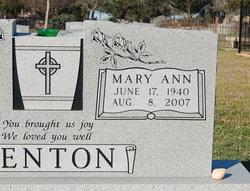 Mary Ann <i>Svoboda</i> Benton