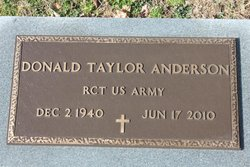 Donald Taylor Don Anderson