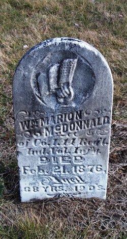 William Marion McDonald