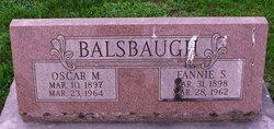 Fannie S <i>Hibshman</i> Balsbaugh
