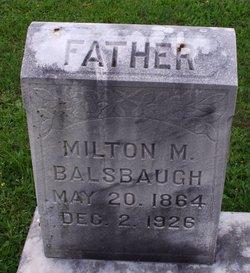 Milton M Balsbaugh