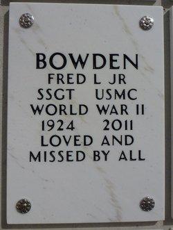 Fred Louis Bowden, Jr