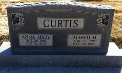 Anna Mary Sissie <i>Johnston</i> Curtis