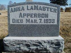 Anna <i>LaMaster</i> Apperson