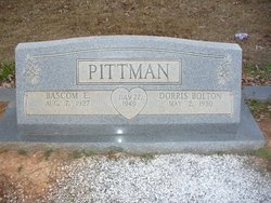 Dorris Sue <i>Bolton</i> Pittman