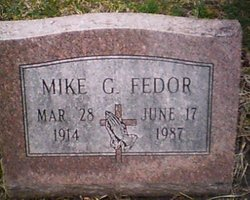 Mike G Fedor
