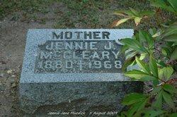 Elizabeth Jane Jennie <i>Murdick</i> McCleary