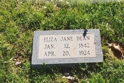 Elizabeth Jane Eliza <i>Patman Hall Miller</i> Dean