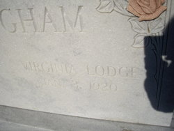 Virginia Gin Granner Britt <i>Lodge</i> Brittingham