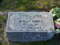 Emma G. <i>Rives</i> Hobbs
