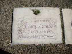 Estella Adeline <i>Stone</i> Brodie