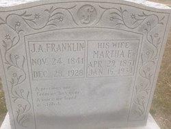 Martha Elizabeth <i>Austin</i> Franklin
