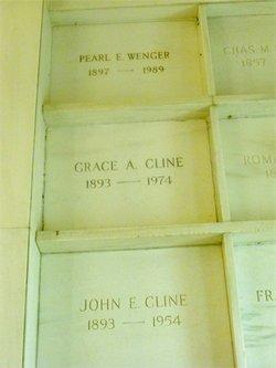 Grace Anna <i>Sipe</i> Cline