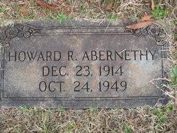 Howard R Abernethy