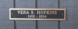 Vera E <i>Somers</i> Hopkins