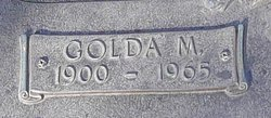 Golda M <i>Barger</i> Adcock