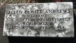 Allen Dewitt Andrews