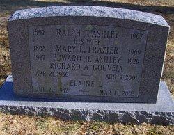 Mary L <i>Frazier</i> Ashley