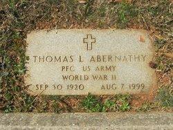 PFC Thomas Lloyd Abernathy