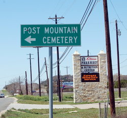 Post Mountain Cemetery