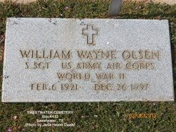 William Wayne Olsen