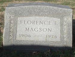 Florence E Magson