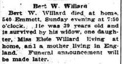 Albert W Willard