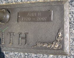 Ann <i>Hardwick</i> Smith