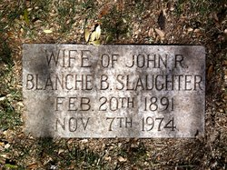 Blanche Beatrice <i>Parkinson</i> Slaughter