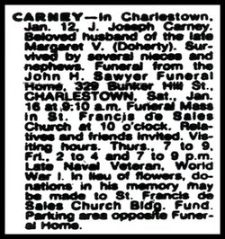 James Joseph Joe Carney, Jr