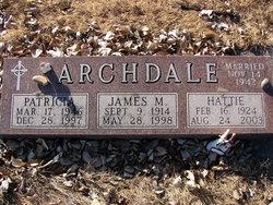 Hattie Erdine <i>Ayers</i> Archdale