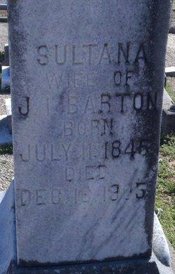 Martha Sultana <i>Wright</i> Barton