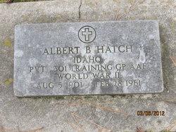 Albert B Hatch