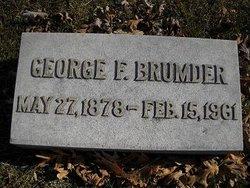 George Frederick Brumder