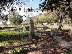 Ann Matilda <i>Bozeman</i> Letcher