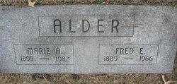 Marie <i>Urban</i> Alder
