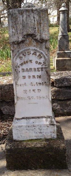 Susan <i>McCoy</i> Barrett