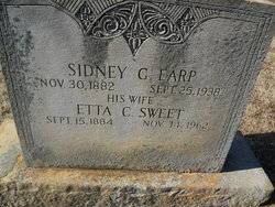 Sidney Garfield SG Earp