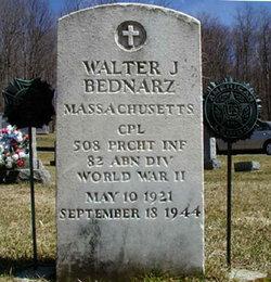 Pvt Walter J Bednarz