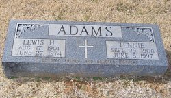 Tennie <i>Dearien</i> Adams