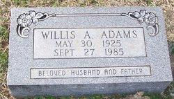 Willis Alvin Adams
