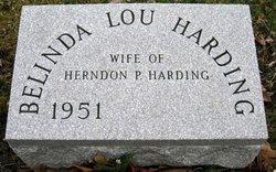 Belinda Lou <i>Young</i> Harding