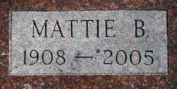 Mattie B Cook