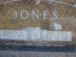 Rita Anne <i>Carr</i> Jones