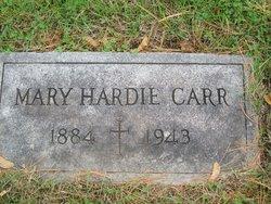 Mary <i>Hardie</i> Carr